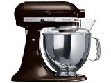מיקסר Kitchenaid ניופאן דגם ksm150 צבע: שוקולד ECH